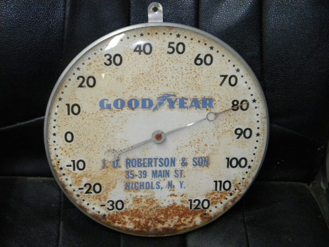 $OLD Good Year Tires Pam Thermometer