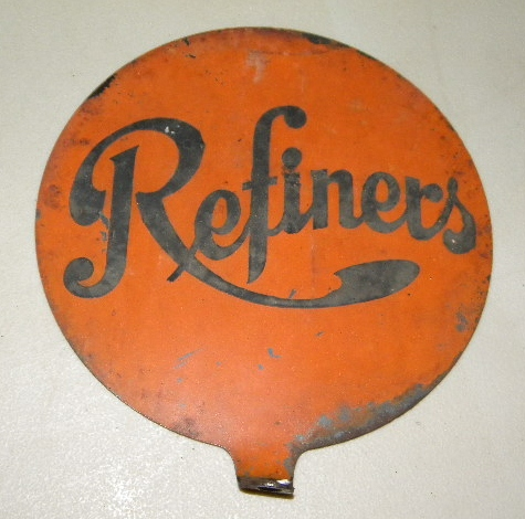$OLD Refiners Gasoline Lubester Sign DST