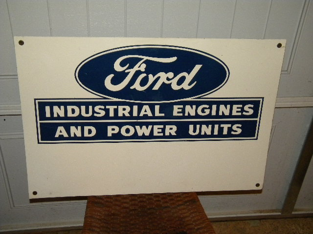 $OLD Single Sided Ford Sign Engines and Power Units