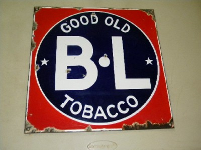 $OLD BL Tobacco SSP sign