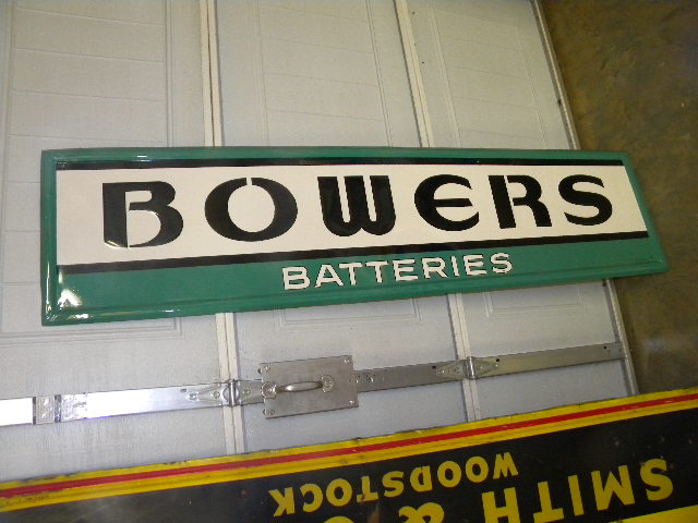 $OLD Bowers Battery SST Sign