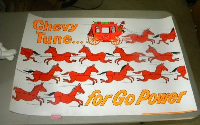 $OLD Chevrolet Tune Up w/ Horse Power Graphics