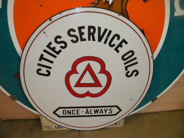 $OLD Cities Service 42 Inch DSP w/ Red Logo