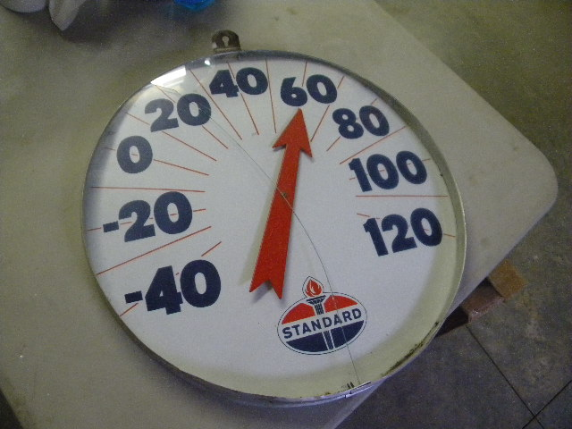 $OLD Standard Jumbo Thermometer