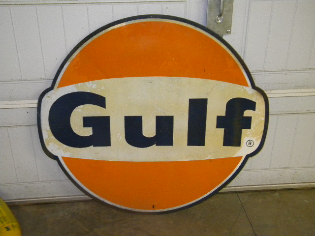 $OLD Gulf SST Sign w/ Ears