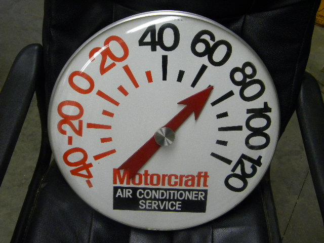$OLD Motorcraft Jumbo Thermometer
