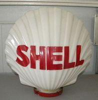 $OLD Shell Gasoline Globe Original