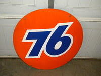 $OLD Union 76 Porcelain 30 inch sign