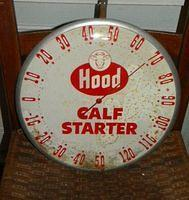 $OLD Hood Thermometer w/ Cow Graphics