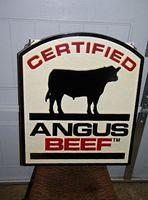 $OLD Certified Angus Beaf DBL Sided Sign