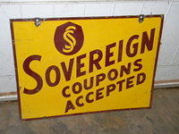 $OLD Sovereign Service Coupons Accepted DST Signw / Logo