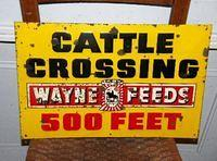 Wayne Feeds Sign $OLD