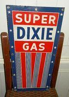 $OLD Super Dixie Pump Plate Sign