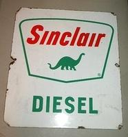 $OLD Sinclair Diesel Pump Sign