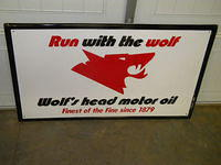 $OLD Wolf's Head SST Sign