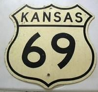 $OLD US ROUTE 69 Kansas Shield