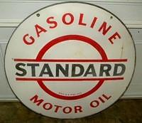 $OLD Standard Gasoline DSP 30 Inch Sign