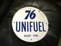 $OLD Union 76 Unifuel / Diesel PPP Sign