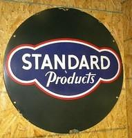 $OLD Standard Motor Oils SSP 24 Inch Truck Sign