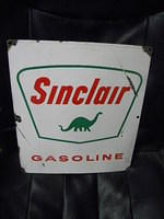 $OLD Rough Sinclair Porcelain PPP Sign