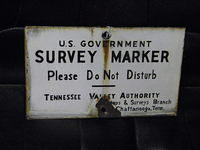 $OLD Tennessee Valley Marker TVA