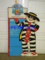 $OLD Hamburgler Sign From McDonalds