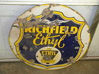 $OLD Richfield Ethyl DSP Sign