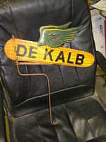 $OLD Dekalb Diecut Flying Ear of Corn Weathervane