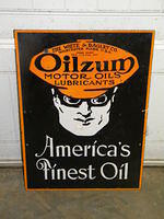 $OLD Oilzum DSP Porcelain Sign