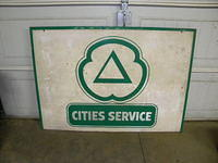 $OLD Cities Service SST sign