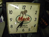 $OLD Original Mack Trucks Clock