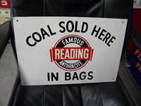 $OLD Reading Coal Sign