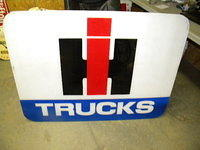$OLD IH International Harvester Light Up Sign Face