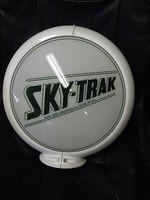 $OLD Sky Trak Gas Pump Globe 13 1/2 Inch on New Capco