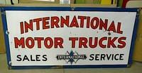 $OLD International Trucks DSP Sign