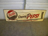 $OLD Pepsi Cola Sign