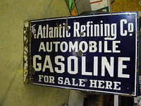 $OLD Atlantic Refining Co DSP Flange Sign