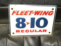 $OLD Fleet-Wing 8-10 Pump Sign