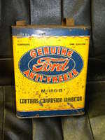 $OLD Ford Anti Freeze early Metal Can