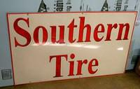 $OLD Southern Tires SST Sign
