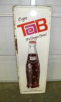 $OLD Tab Coca Cola Sign