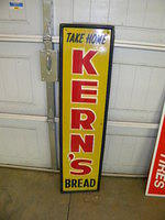 $OLD Kern's Bread Embossed Tin Sign