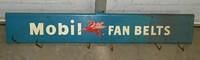 $OLD Mobil Fan Belts Tin Sign
