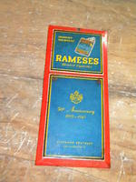 $OLD Rameses Tin Cigarette Sign