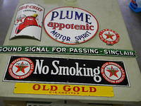 $OLD Texaco Sinclair Signs & Others