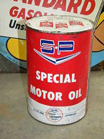 $OLD Studebaker Packard 5 Quart Motor Oil Can