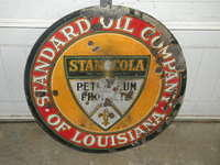 $OLD Stanocola DSP Porcelain Sign 30 Inch