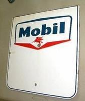 Mobil Single Sided Porcelain Sign $OLD