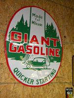 "GIANT GASOLINE ""Made for Mileage"" w/ Killer Graphics"